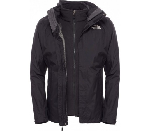 Geaca The North Face M Evolution II Triclimate Gri/Neagra