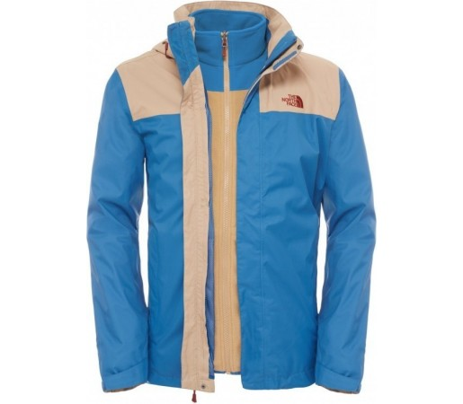 Geaca The North Face M Evolve II Triclimate Albastra/Verde