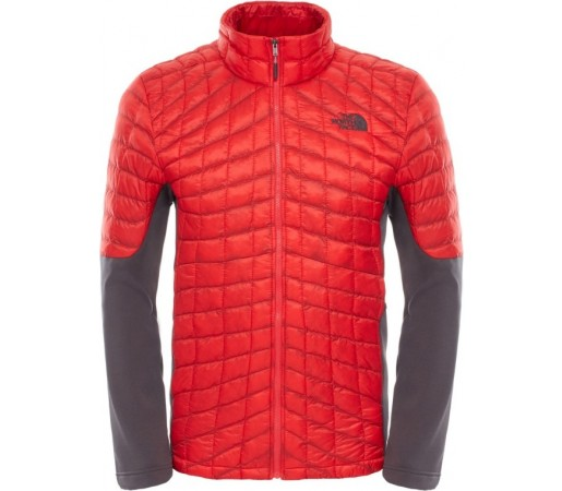 Geaca The North Face M Momentum Thermoball Hybrid Rosie/Gri