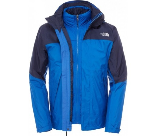 Geaca The North Face M Mountain Light Triclimate Albastra