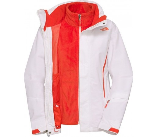 Geaca The North Face W Kardiak Triclimate White