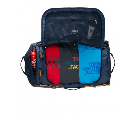 Geanta The North Face Base Camp Duffel - L Albastra