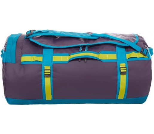 Geanta The North Face Camp Duffel L Mov/ Albastru