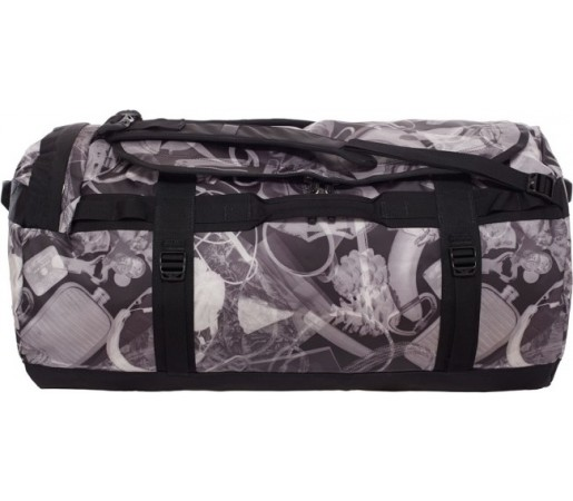 Geanta The North Face Camp Duffel L Negru/ Gri