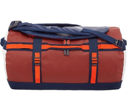 Geanta The North Face Camp Duffel S Portocaliu/ Rosu