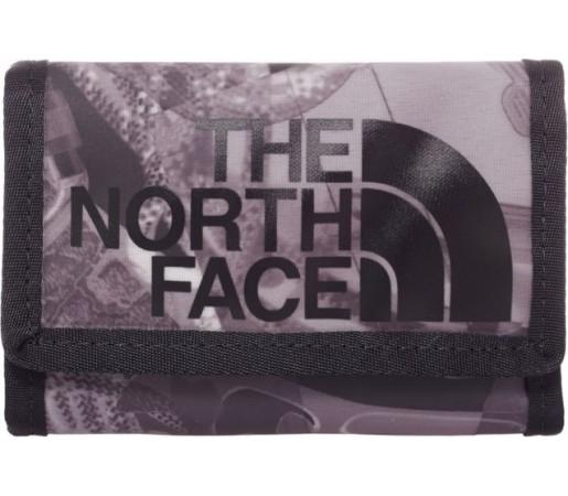 Portofel The North Face Base Camp Wallet Negru/ Gri