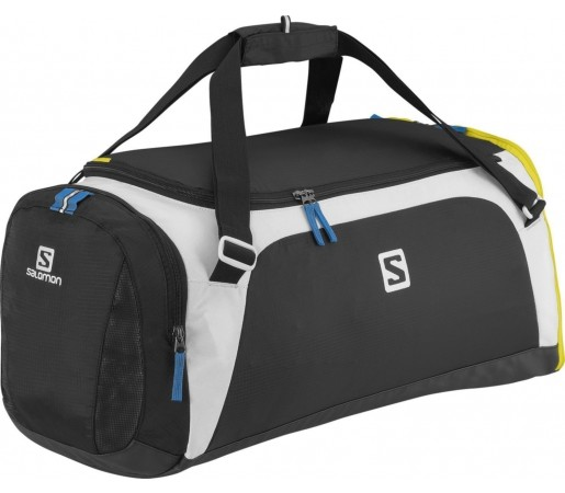 Geanta Salomon Sports Bag XL Black- Yellow- White