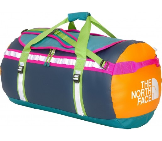 Geanta The North Face Base Camp Duffel L Blue- Orange