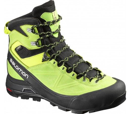 Incaltaminte Hiking Salomon X Alp Mountain Gore-Tex Verde