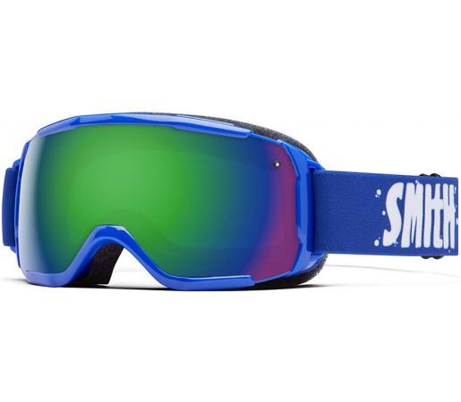 Ochelari Schi si Snowboard Smith Grom Albastri