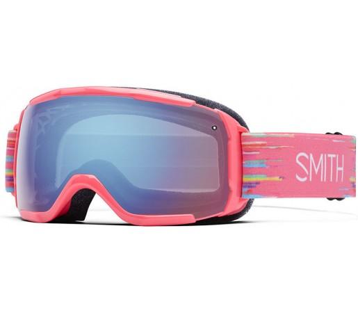 Ochelari Schi si Snowboard Smith Grom Roz