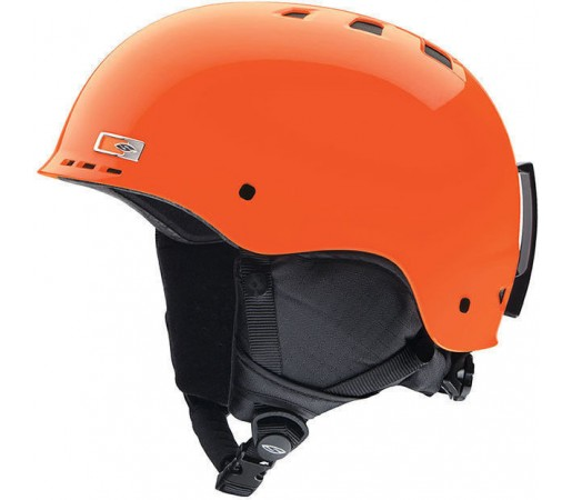 Casca Schi si Snowboard Smith Holt Junior Neon Orange