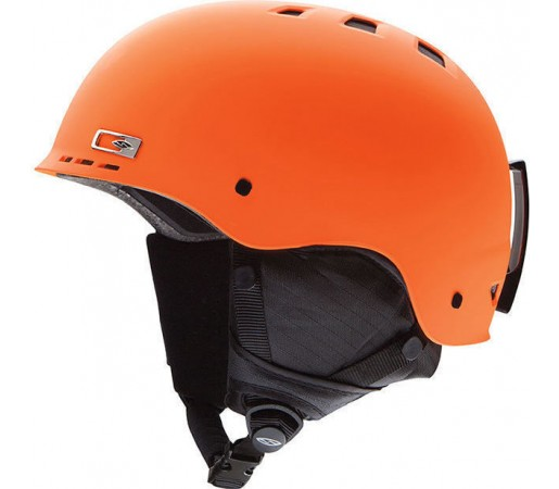 Casca Schi si Snowboard Smith Holt-AD Matte Neon Orange