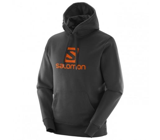 Hanorac Salomon Logo Hoodie M Negru