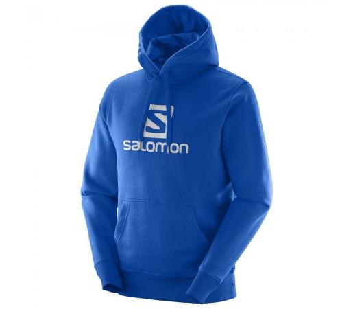 Hanorac Salomon Logo Hoodie M Albastru