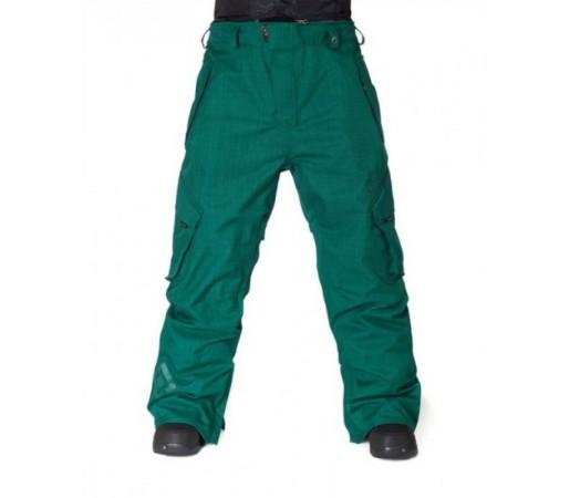 Pantaloni schi si snowboard Horsefeathers Benson Verzi