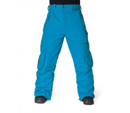 Pantaloni schi si snowboard Horsefeather Josh Albastri