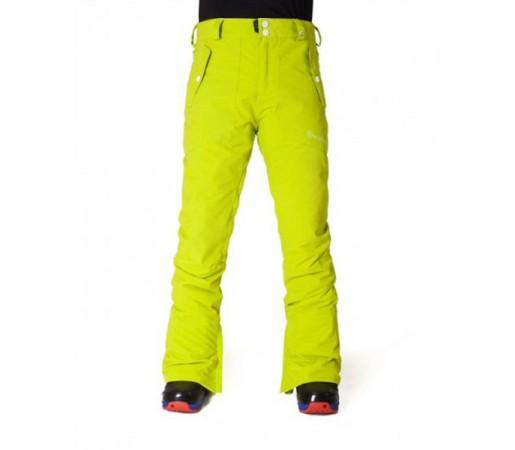 Pantaloni schi si snowboard Horsefeathers Rose Verde Sulf