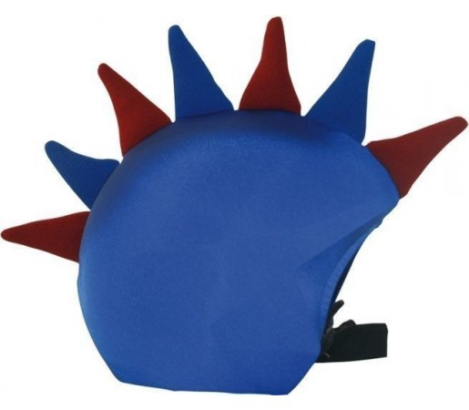 Husa amuzanta casca Coolcasc Drac Blau Grana