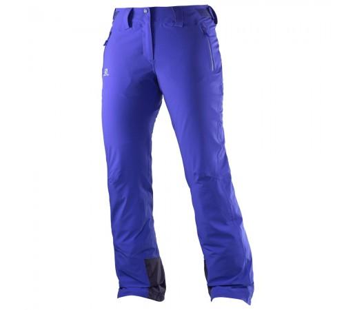 Pantaloni schi si snowboard Salomon Iceglory Pant W Albastri