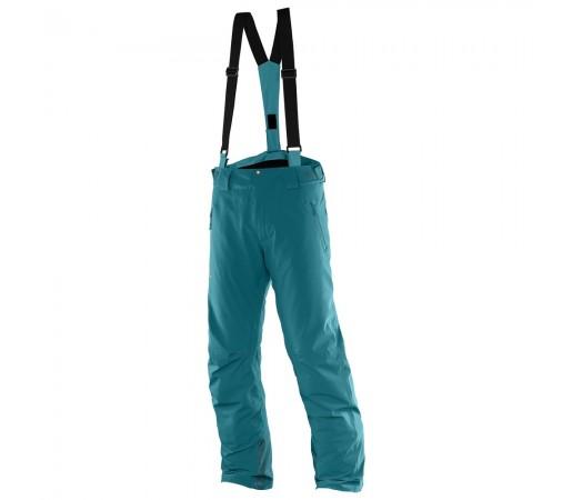 Pantaloni schi si snowboard Salomon Iceglory Pant M Turquoise