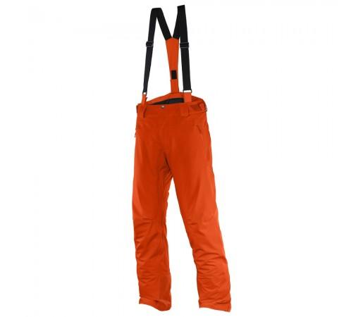 Pantaloni schi si snowboard Salomon Iceglory Pant M Portocalii