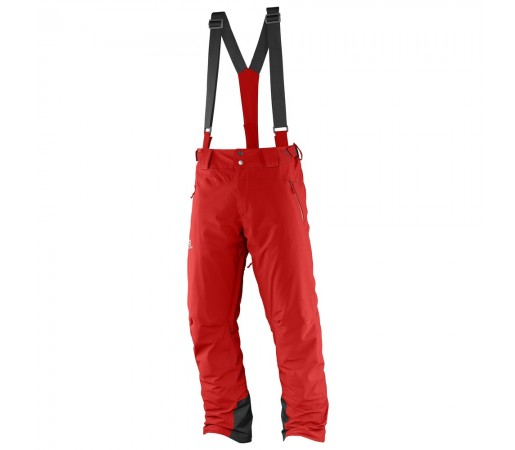 Pantaloni schi si snowboard Salomon Iceglory Pant M Rosii