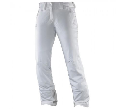 Pantaloni schi si snowboard Salomon Iceglory Pant W Albi