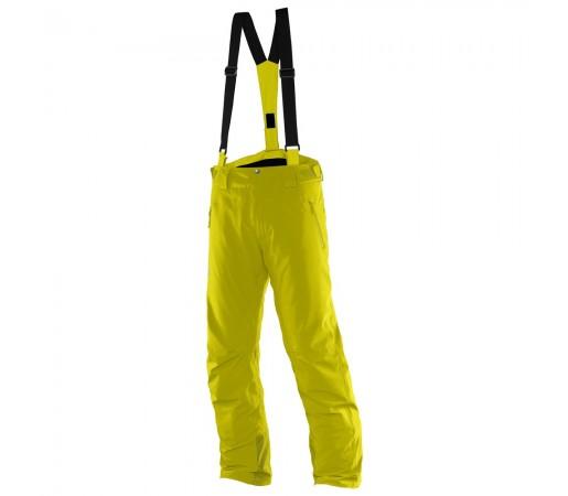 Pantaloni schi si snowboard Salomon Iceglory Pant M Galbeni