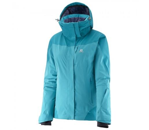 Geaca schi Salomon Icerocket Jkt W Turquoise