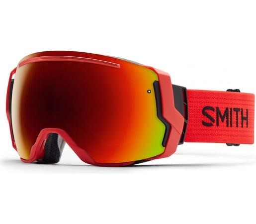 Ochelari Schi si Snowboard Smith I/O 7 Rosii