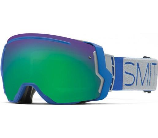 Ochelari de schi si snowboard Smith I/O 7 Cobalt Block/Green Sol-X Mirror