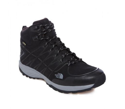 Incaltaminte The North Face M Litewave Explore Mid Gtx Negru/Gri