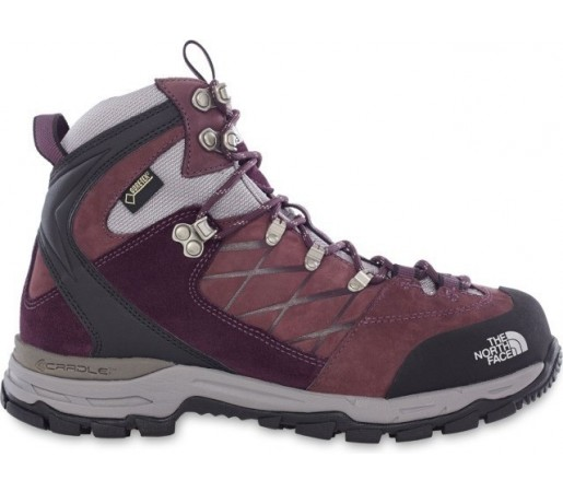 Incaltaminte hiking The North Face W Verbera Hiker II GTX Mov/Gri