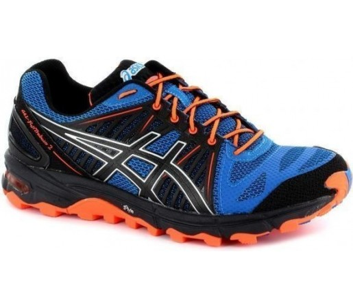 Incaltaminte Asics Gel Fujitrabuco 2 Blue- Black- Orange