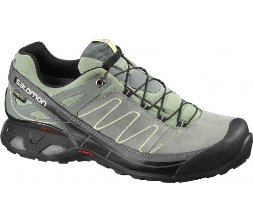 Incaltaminte sport Salomon X OVER LTR GTX Green