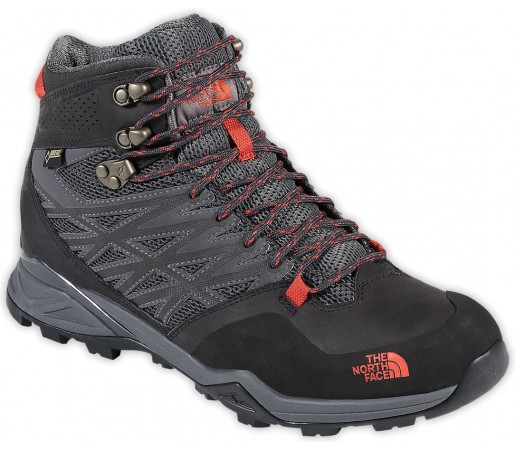 Incaltaminte The North Face M Hedgehog Hike Mid Gtx Gri/Portocalie