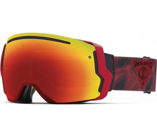 Ochelari Schi si Snowboard Smith I/O SEVEN Fire Insomniac/Red Sol-X mirror