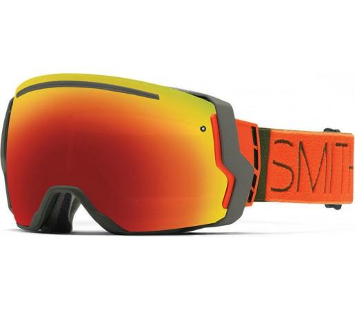 Ochelari Schi si Snowboard Smith I/O SEVEN Cyprus Block/Red Sol-X mirror