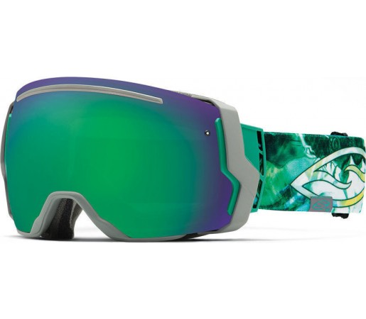 Ochelari Schi si Snowboard Smith I/O SEVEN Sage Metatron/ Green Sol-X mirror