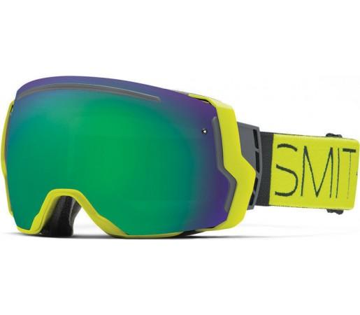 Ochelari Schi si Snowboard Smith I/O SEVEN Acid Block/ Green Sol-X mirror