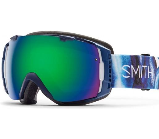 Ochelari de schi si snowboard Smith I/O Crystalline Albastru/ Green SOLX