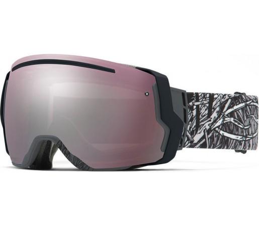 Ochelari Schi si Snowboard Smith I/O SEVEN Charcoal Stickfort/ Ignitor mirror