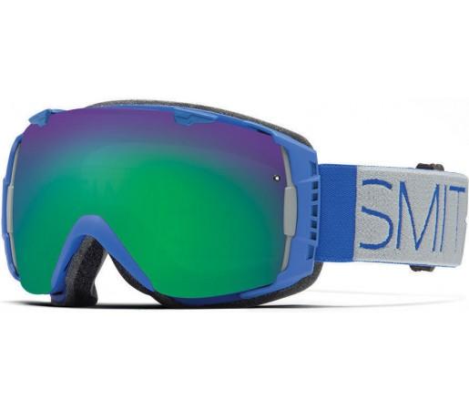 Ochelari Schi si Snowboard Smith I/O Cobalt Block/ Green Sol-X mirror