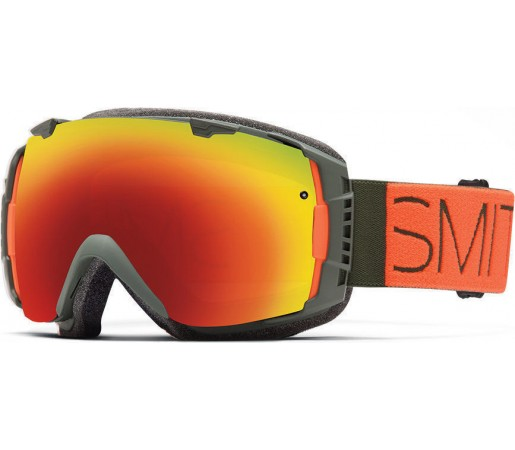 Ochelari Schi si Snowboard Smith I/O Cyprus Block/ Red Sol-X mirror