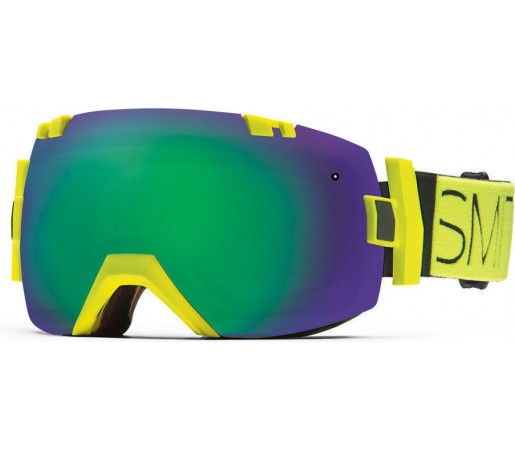 Ochelari Schi si Snowboard Smith I/OX Acid Block/Green Sol-X mirror