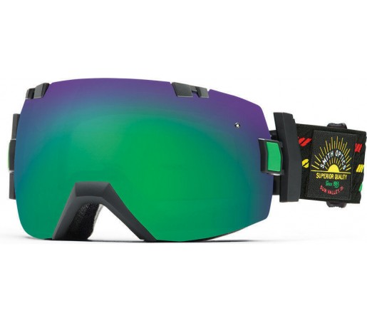 Ochelari Schi si Snowboard Smith I/OX Revival Irie/Green Sol-X mirror