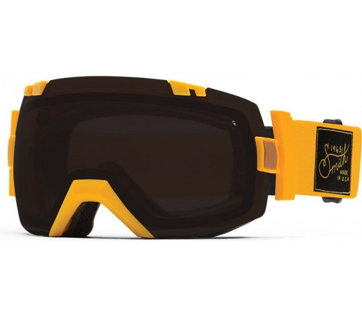 Ochelari Schi si Snowboard Smith I/OX Revival Mustard/Blackout