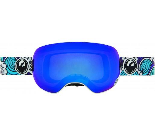 Ochelari Schi si Snowboard Dragon X2 Jamile Lynn Albastru/ Blue Steel + Yellow Blue Ion