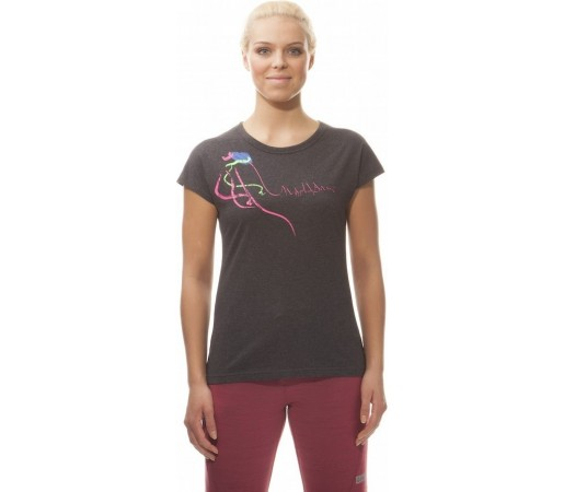 Tricou Nordblanc Jellyfish Ladie's Light Cotton Gri